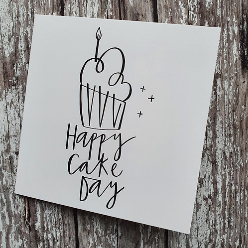 'Happy Cake Day' card - Cheryl Rawlings