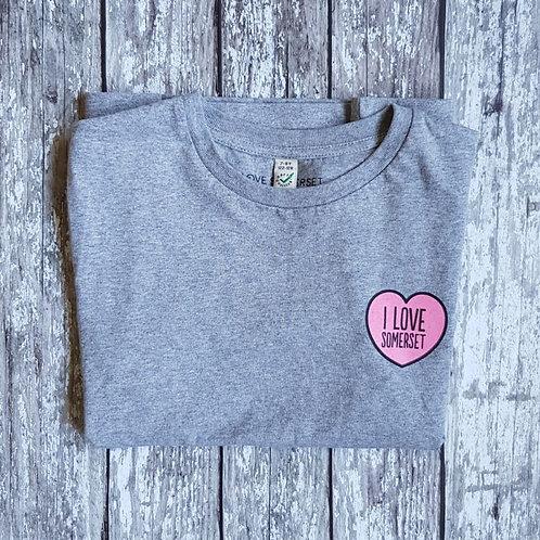 'I Love Somerset' kids t-shirt