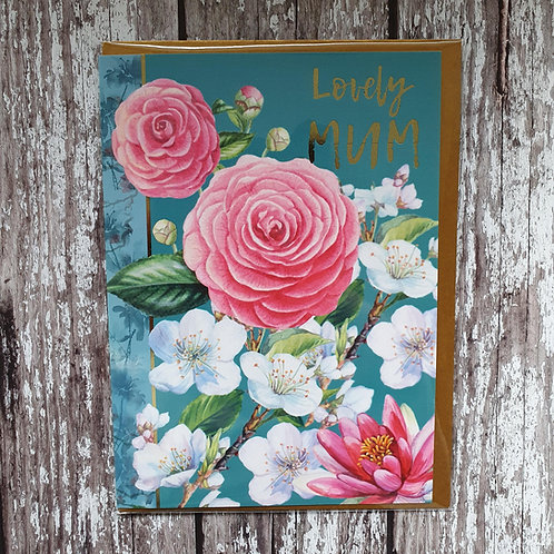 'Lovely Mum' card - Rocket 68