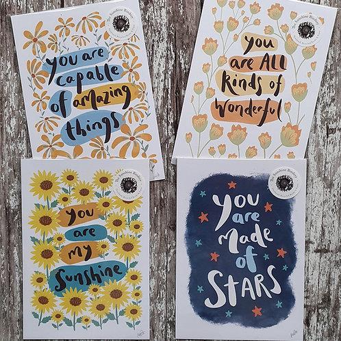 A5 prints - The Sunshine Bindery