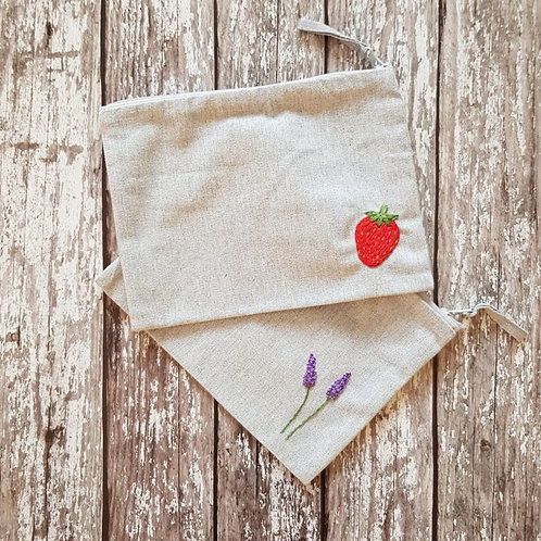Embroidered bags – Tatty Embroidery