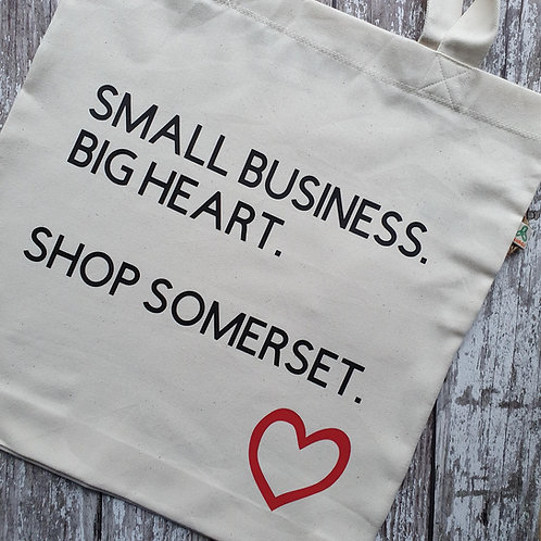 'Somerset Small Business' tote bag