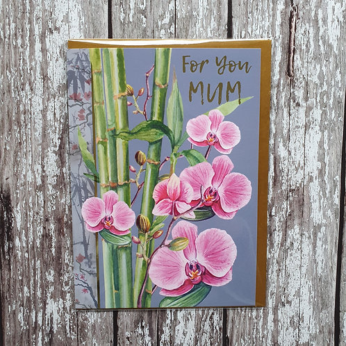 'For You Mum' card - Rocket 68