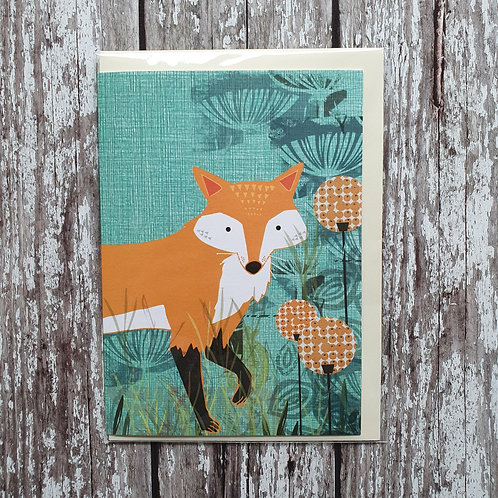 Fox greeting card - Rocket 68