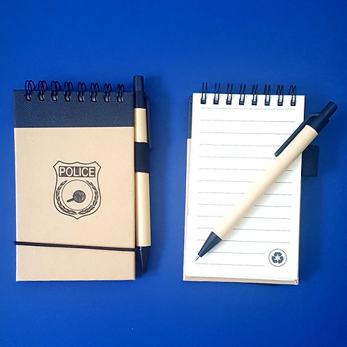 Police Jotter and Pen | Add To Order
