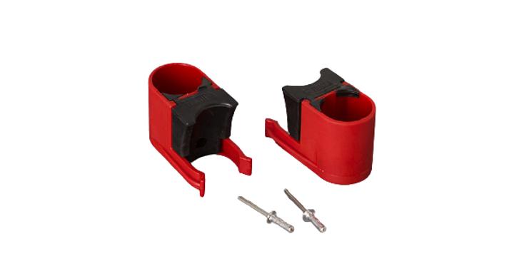 Bull shock absorber red 2pcs