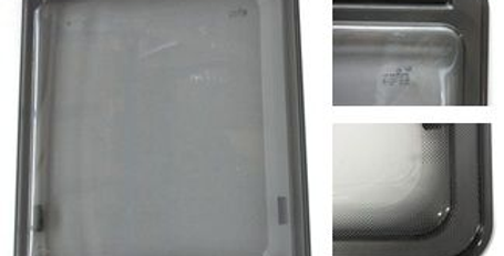 Finestra F23  con serigrafia grigia