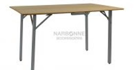 Tavolo bamboo 115x72 grande pieghevole