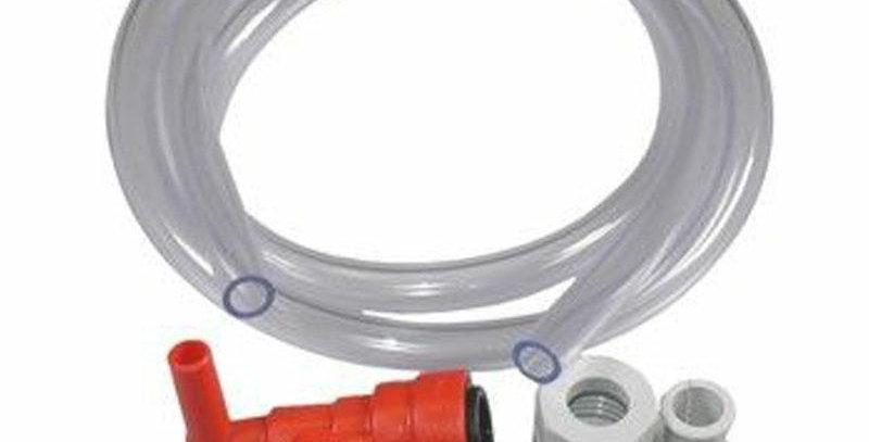 Raccordo boiler rosso