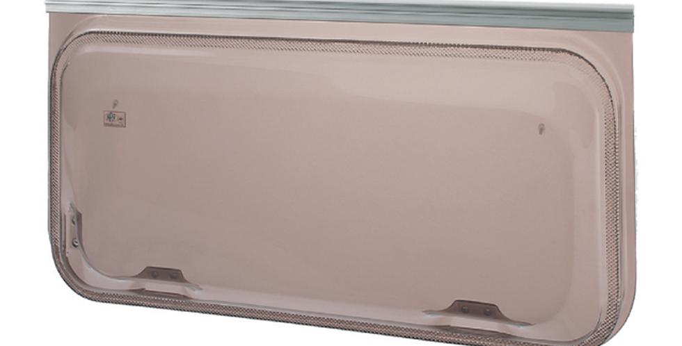 Finestra serie Europa 1450x600 marrone
