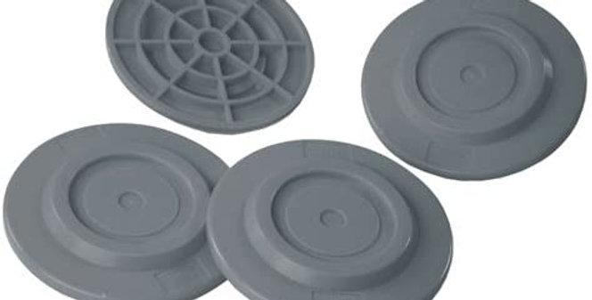 Plates grey- piedini anti sprofondamento
