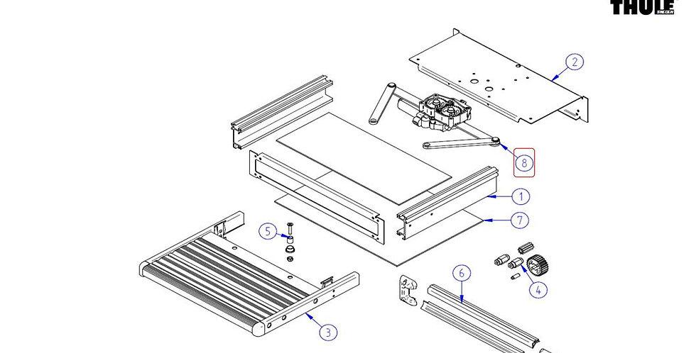 Kit motore per gradino slide-out