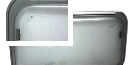 Finestra compasso F20 serigrafia grigia 1300x550
