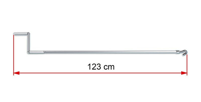 Crank handle standard/ Asta tendalino