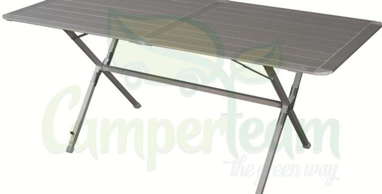 Tavolo alluminio richiudibile 4/6 posti 140x70