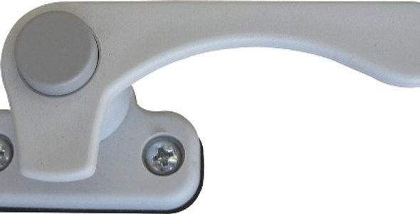 Maniglia destra con bottone grigio