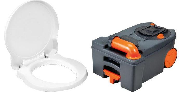 Cassetta C250/C260 con maniglia e ruote (tappo arancio)