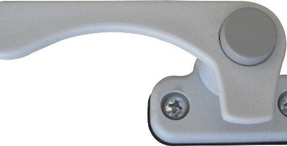 Maniglia sinistra con bottone grigio