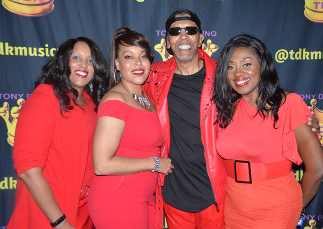 The Ladies of TDK Band with TDK
