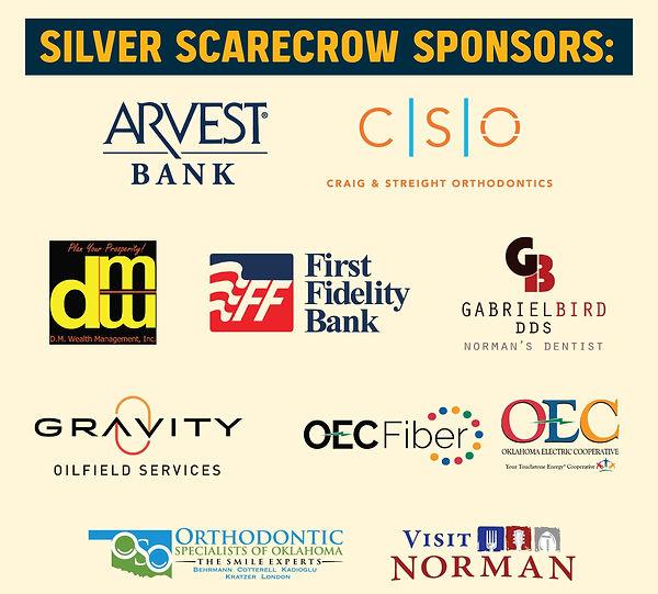 Silver Scarecrow Sponsors. facebook post