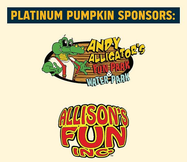 Platinum Pumpkin Sponsors, facebook post