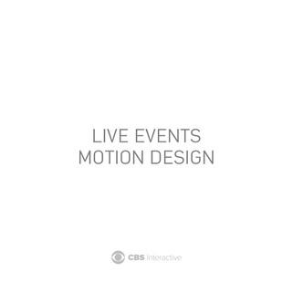 Motion Design for Google, Apple, Facebook