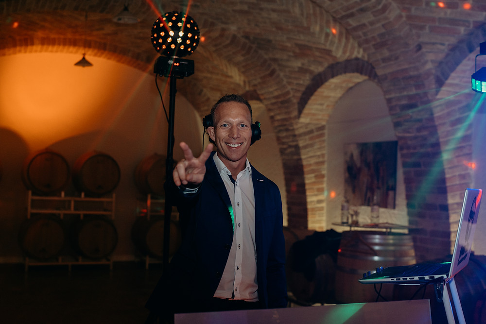 DJ Jürgen Siegl, Foto @Jana Hofmann / Blog Wortverlesen