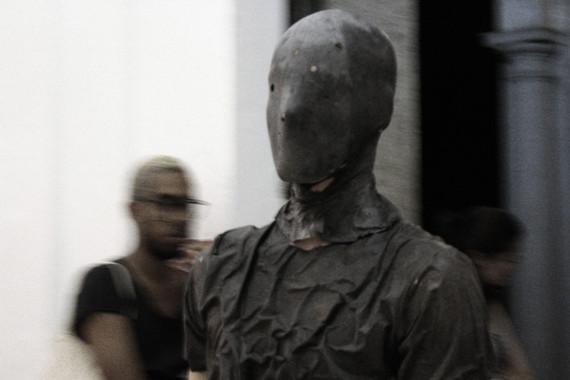 Parque Lage, Rio de Janeiro, 2016. Performers: Natalia Silvestre Mauricio Krumholz Antonio Tebyriçá