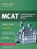 MCAT Critical Analysis and Reasoning Skills Review Third Edition