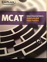 MCAT High-Yield Science Solutions and Extra Practice