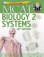 MCAT Biology 2: Systems 10th edition