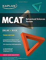 MCAT Behavioural Sciences Review Third Edition