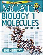 MCAT Biology 1: Molecules 10th edition