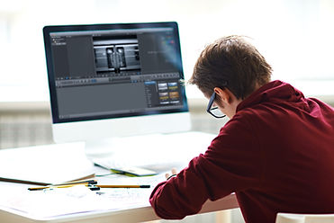 Imatge simulada de la visió que proporciona una lent ocupacional de fins a 1 metre