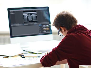 Adobe Rush editing demonstration