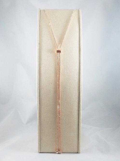 Slide Necklace Rosegold