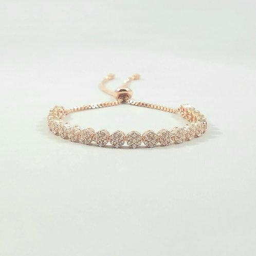 Bouquet Adjustable Bracelet Rosegold