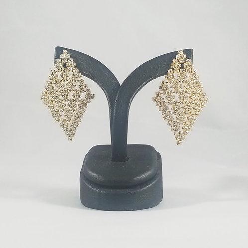 Medium Cleopatra Earrings Gold
