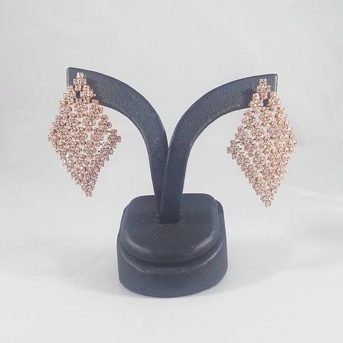 Medium Cleopatra Earrings Rosegold