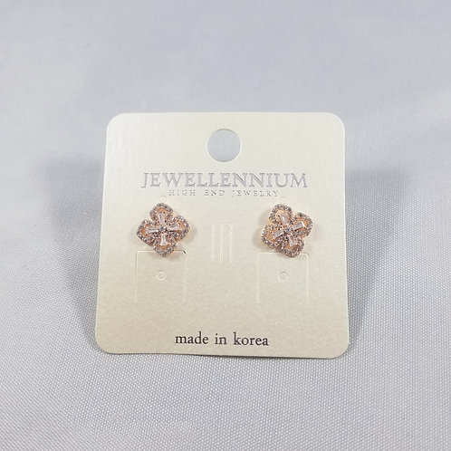 J-Line Earrings Rosegold: AJE4RG