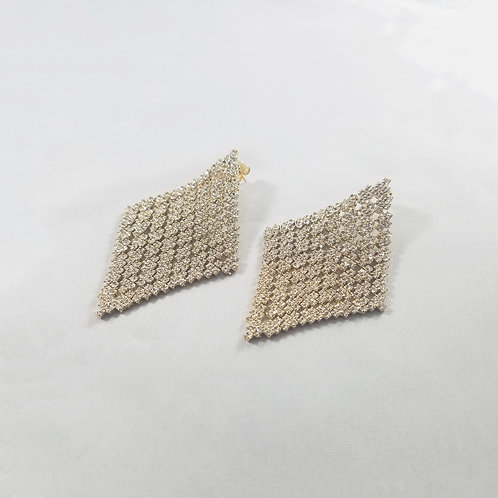 Large Cleopatra Earrings Gold