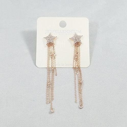 J-Line Earrings Rosegold: CJE11RG