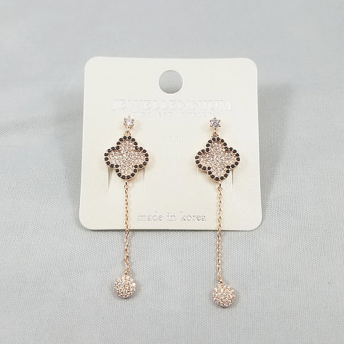J-Line Earrings Rosegold: BJE7RG