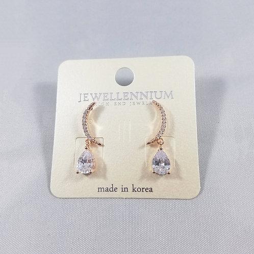 J-Line Earrings Rosegold: BJE4RG