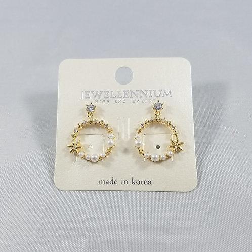 J-Line Earrings Gold: BJE2G