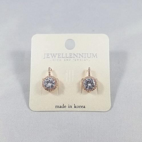 J-Line Earrings Rosegold: AJE5RG