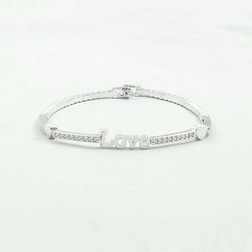 Love Bracelet Rhodium