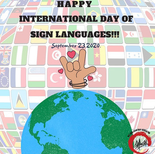 BAADA wishes a Happy International Day of Sign Languages!!!