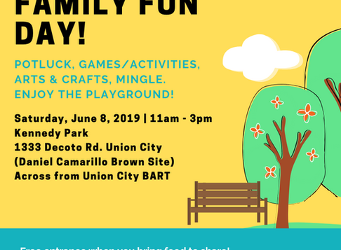 BAADA Event: Family Fun Day! (Summer edition)