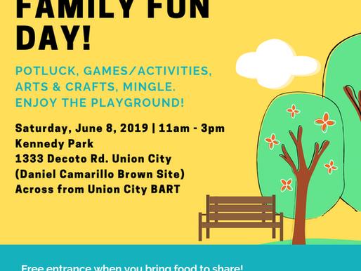 BAADA Event: Family Fun Day! (Summer edition)